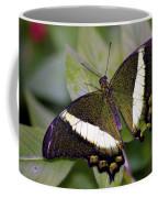 Green Butterfly Coffee Mug