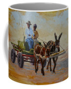 Green Cart Coffee Mug