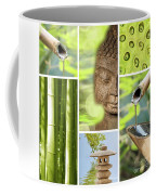 Green Collage Coffee Mug