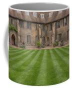 Green College Yard Coffee Mug