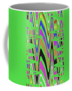 Green Color Abstract #140 Coffee Mug