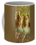 Green Dancers Coffee Mug