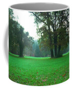 Green Dawn In Autumn Coffee Mug