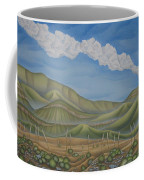 Green Desert Coffee Mug