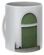 Green Door Arch Coffee Mug