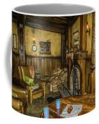 Green Dragon Fireplace Coffee Mug