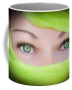 Green-eyed Girl Coffee Mug