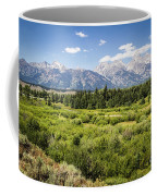 Green Field Coffee Mug