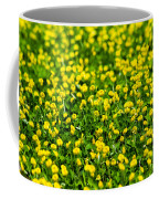 Green Field Of Yellow Flowers 2 1 Coffee Mug