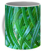 Green Forest Fern Fronds Art Prints Baslee Troutman Coffee Mug