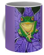 Green Frog Coffee Mug