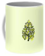 Green Glass Ornaments Coffee Mug