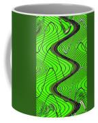 Green Grass Behind The Fence Coffee Mug