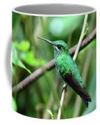 Green Crowned Brilliant Hummingbird Coffee Mug