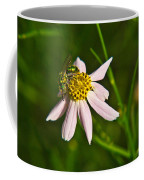 Green Iridescent Bee Coffee Mug
