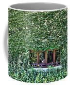 Green Ivy Window  Coffee Mug