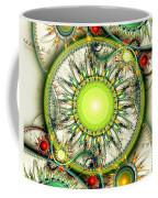 Green Jewelry Coffee Mug