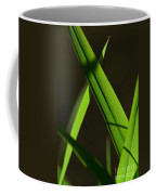 Green Leaves In Sunlight Coffee Mug