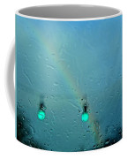 Green Light To A Rainbow Coffee Mug