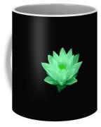 Green Lily Blossom Coffee Mug
