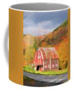 Green Mountains Barn Coffee Mug