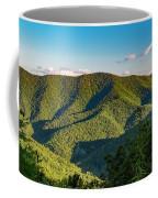 Green Mountainside Coffee Mug