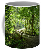 Green Nature Bridge Coffee Mug