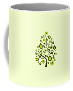 Green Ornaments Coffee Mug