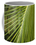 Green Palm Leaf Coffee Mug