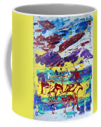 Green Pastures And Purple Mountains Coffee Mug