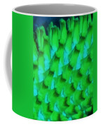 Green Pattern Abstract Coffee Mug