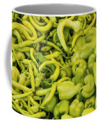 Green Peppers Coffee Mug