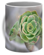 Green Petals Coffee Mug
