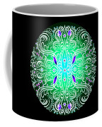 Green Piece Mandala Coffee Mug