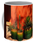 Green Pots Coffee Mug