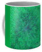 Green Radation With Violet  Coffee Mug