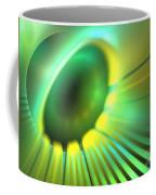 Green Rays Coffee Mug