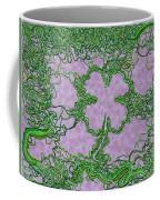 Green Ribbon Shamrock Coffee Mug
