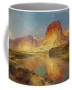 Green River Of Wyoming Coffee Mug by Thomas Moran