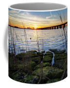 Green Rock Sunset Coffee Mug