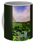 Green Soul Of The Cliff Coffee Mug