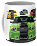 Green Stang Coffee Mug