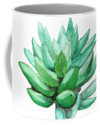 Green Succulent  Coffee Mug