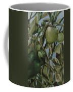 Green Tomatoes On The Vine Coffee Mug