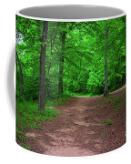 Green Trail Coffee Mug