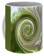 Green Twirl Coffee Mug