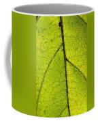 Green Veins Coffee Mug