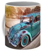 Green Vw Coffee Mug