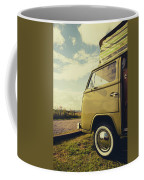 Green Vw T2 Camper Van 02 Coffee Mug