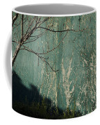 Green Wall Abstract Coffee Mug